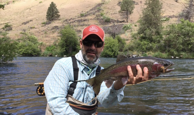 Fly-Fish  Deschutes Trout